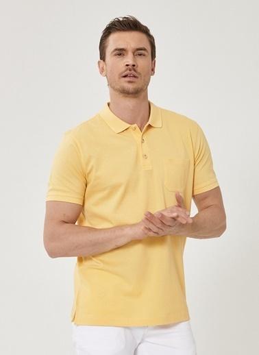 Beymen Business Regular Fit Polo Tişört 4B4819200073 Sarı